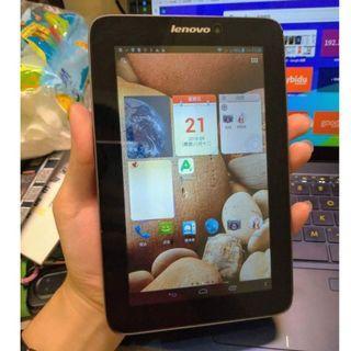 通話上網平板 Lenovo IdeaTab A2207 安卓Android平板,適合追劇看電視kubo、LINE、電子書 3G4GSIM
