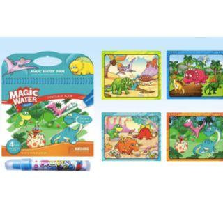 🚚 $6 WOW! Magic Water WOW Drawing Books - Clearance!