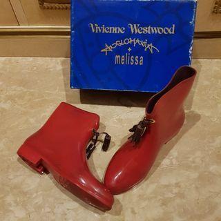 Melissa x Viviene Westwood Authentic boots size 39