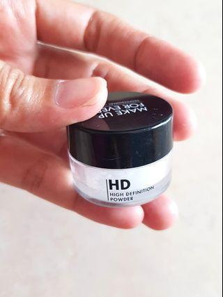 Make up for ever micro finish powder