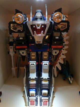 🚚 Power Rangers (Sentai) Space Megazord Series and Mega Voyager