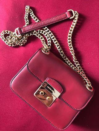 Michael Kors Red Sling Bag