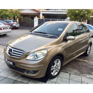 Mercedes Benz B170 AVANTGARDE HIGHSPEC(CBU) 1.7(A)
