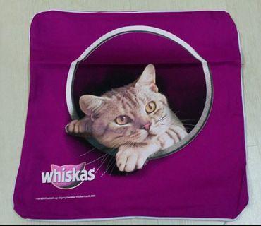 Whiskas pillow case