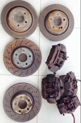 Brembo Brake calipers for Mercedes w221  or other cars