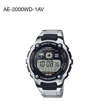 🍎Wholesales price - Original Casio Watch AE-2000WD-1AV