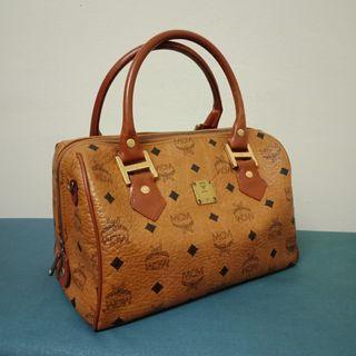 Auth. MCM Speedy Bag
