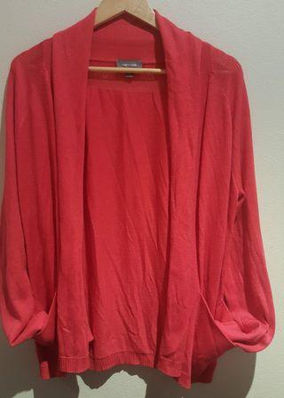 Sussan red Cardigan size L