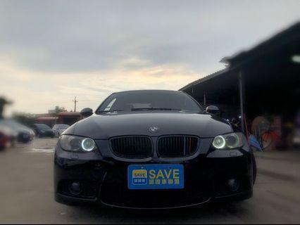 2007年 BMW 335ci 黑色大猛獸
