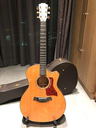 RARE Taylor 714 CE Limited Edition (Koa wood back and side)