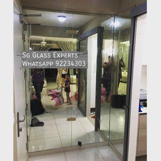🚚 Full height mirror hdb renovation bto