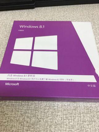賠本賣_Windowns 8.1彩盒版授權無使用狀態
