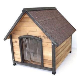 Dog kennel dog house small with patio