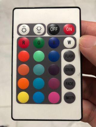 RGB controller remote control