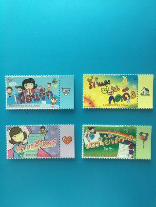 泰國郵票—001