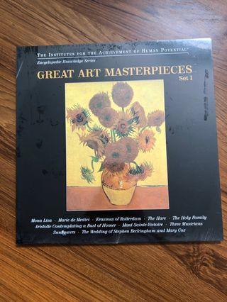 "Glenn Doman's ""Bits of Intelligence"" Cards—Great Art Masterpieces"