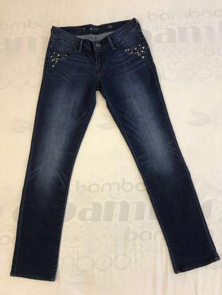 Levis Demi Curve Low Rise Straight Tag Size : 29