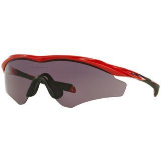Oakley M2 Frame XL Asian Fit - Redline Red Frame - Warm Grey Lens