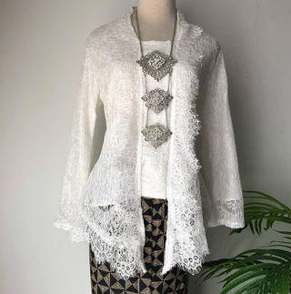 White Kebaya Lace