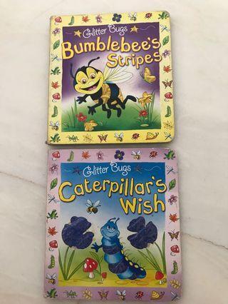 🚚 Children Glitter Books