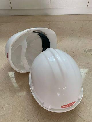 Safety helmet white by Dancel