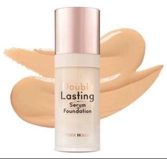 (NEW) Etude House Double Lasting Serum Foundation SPF25 PA++ N05 (8gr)