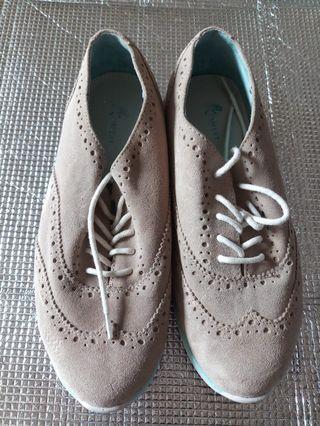 真皮健康鞋