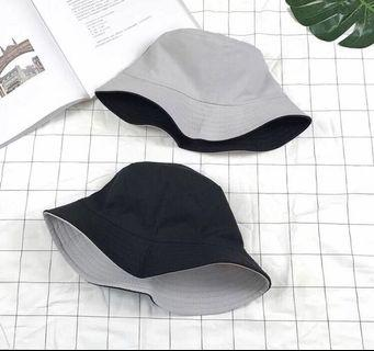 🚚 Light Grey Reversible Hat