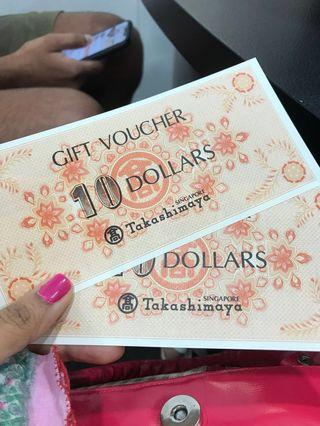 Vouchers selling very cheap