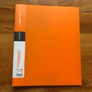 🚚 Orange Binder File with Individual folders