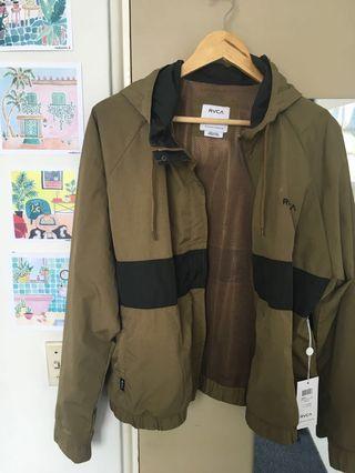 RVCA water proof / splash jacket