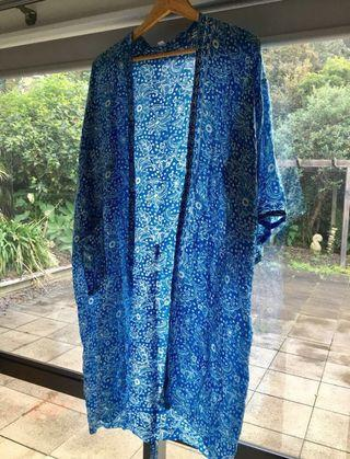 AUTHENTIC SILK GOWN