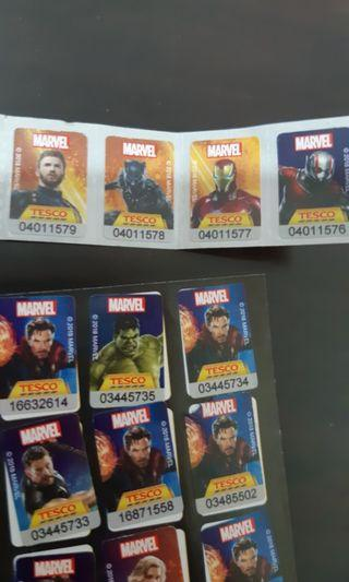 Avenger sticker book