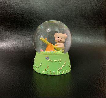 麥嘜玻璃水晶球