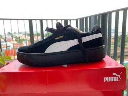 🚚 Puma Black Vikky Stacked SD