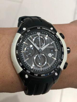 Citizen x Toyota 86 limited edition chronograph watch