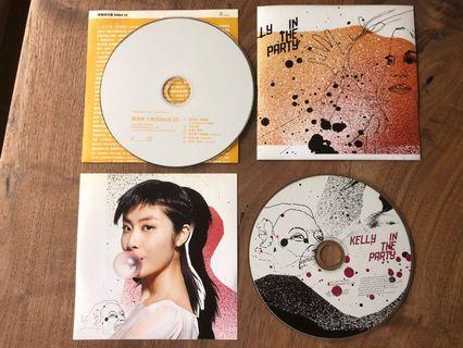 (包郵) 陳慧琳 Kelly in the Party (2001) #裸碟 CD唱片