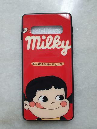 🚚 Milky phone case/ cover ( hard glass )