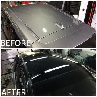 CAR ROOF STICKER WRAPPING