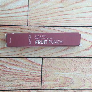 Wardah Exclusive Matte Lip Cream Fruit Punch