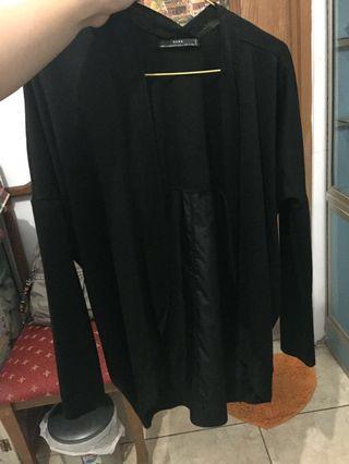 Black Cardigan Zara