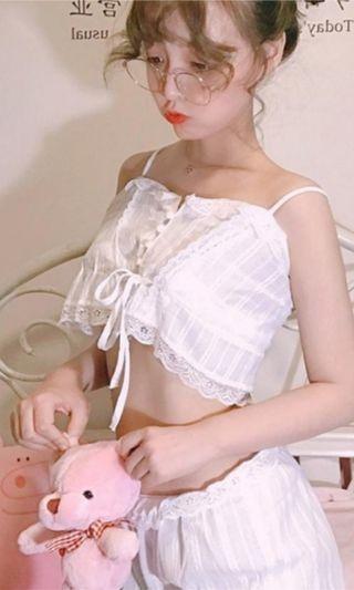 Lace 2pcs lingerie