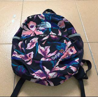 Floral Bagpack the north face