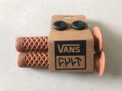 Cult Vans w/Flange BMX single-ply grips