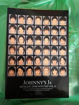 Johnny s Junior 年鑑