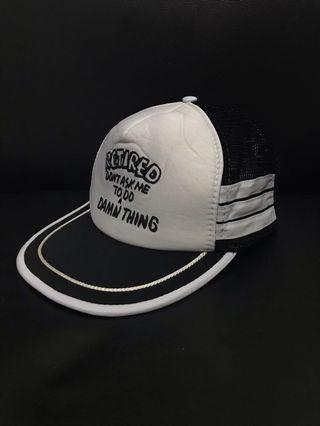 Vintage 3 stripes trucker caps