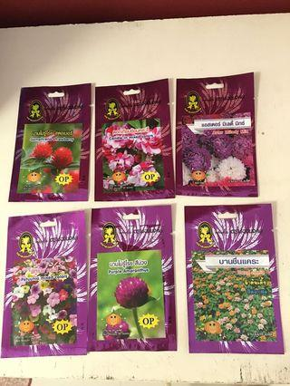Flower seeds from Thailand