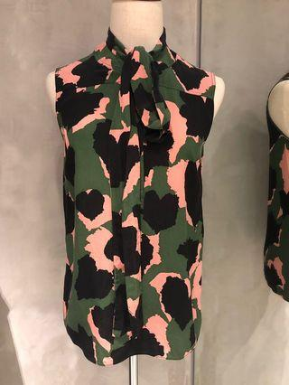 Gucci silk top