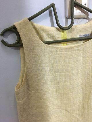 #BAPAU aspri yellow dress