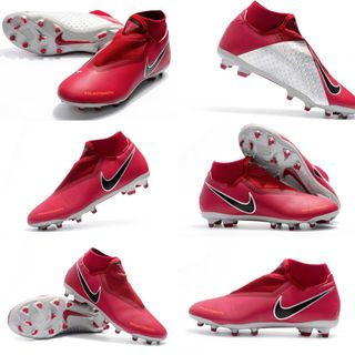 4f8a25e1a Nike Phantom Vision Elite Dynamic Fit FG Team Red Bright Crimson Black  Metallic Dark Grey AO3262